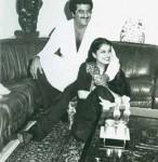 Boney Kapoor and Mona Kapoor