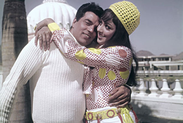 Dharmendra and Hema Malini