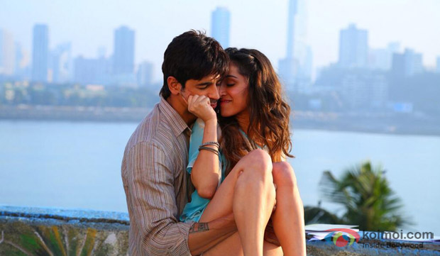 Sidharth Malhotra and Shraddha Kapoor in a still from movie 'Ek Villain'
