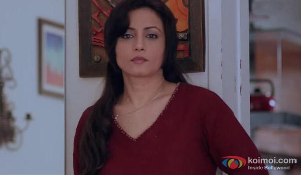 Seema Biswas in a still from movie 'Manjunath'