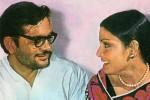 Gulzar and Raakhee
