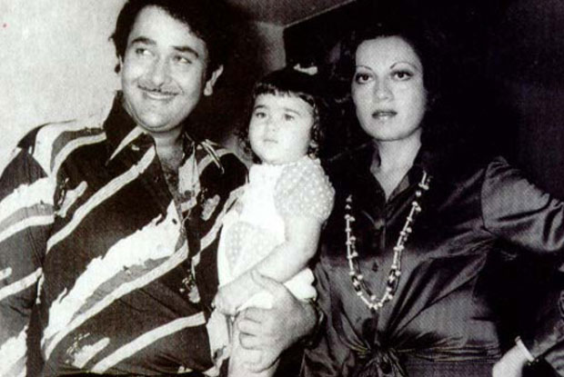 Randhir Kapoor and Babita