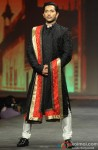 Terence Lewis walks the ramp at 'Caring With Style' fashion show