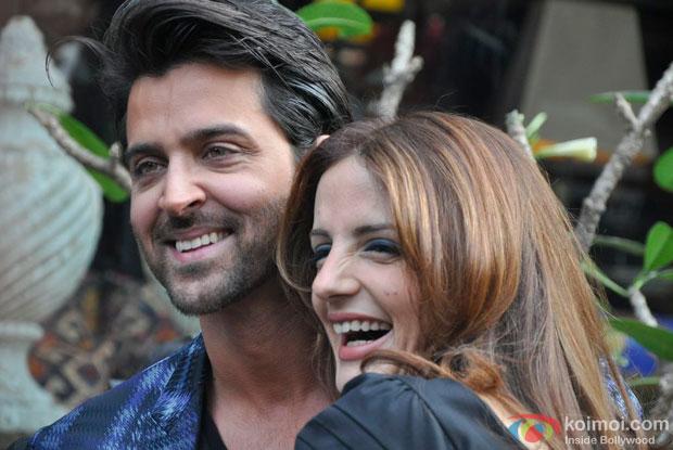Hrithik Roshan and Suzzanne Roshan