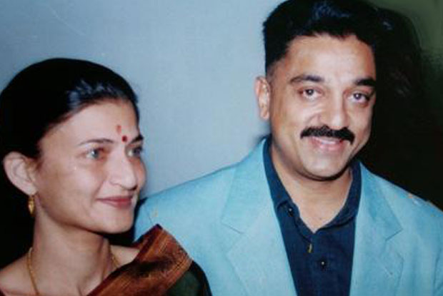 Kamal Haasan and Sarika