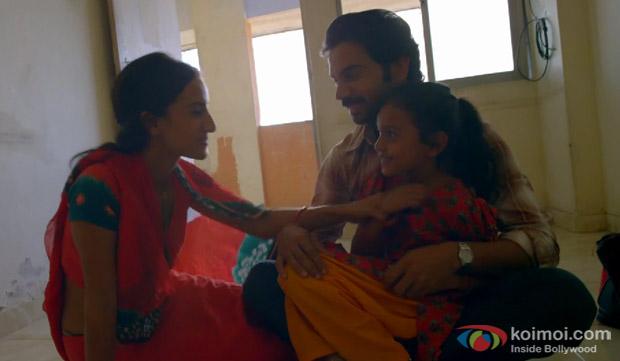 Patralekha and Rajkumar Rao in a 'Muskurane' song still from movie 'Citylights'