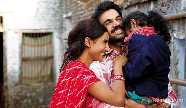 Patralekha and Rajkumar Rao in a still from movie 'Citylights'