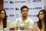 Alia Bhatt and Randeep Hooda during the DVD launch of film 'Highway' Pic 2