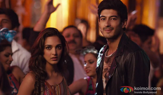Kiara Advani and Mohit Marwah in a 'Good In Bed' song still from movie 'Fugly'