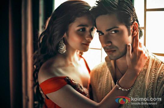 Alia Bhatt and Varun Dhawan in a still from movie 'Humpty Sharma Ki Dulhania'