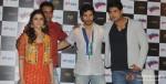 Alia Bhatt, Varun Dhawan and Siddharth Shukla At The Event