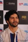 Varun Dhawan At The Trailer Launch
