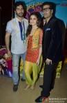 Varun Dhawan, Alia Bhatt and Karan Johar At The Event