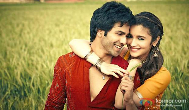 Varun Dhawan and Alia Bhatt in a still from movie 'Humpty Sharma Ki Dulhania'
