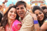Tamannaah and Akshay Kumar in Entertainment Movie Stills Pic 3