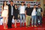 Simran Kaur Mundi, Anu Malik, Anmol Malik, Siddharth Gupta, Aman Sachdeva, Ashish Juneja and Bejoy Nambiar during the press conference of film 'Kuku Mathur Ki Jhand Ho Gayi'
