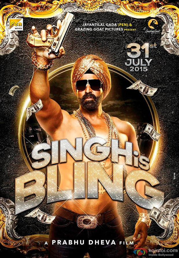 Akshay Kumar in a still from Singh Is Bling Movie