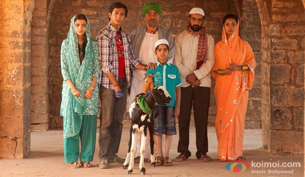 Anshuman Jha and Asif Basra In a still from movie 'Yeh Hai Bakrapur'