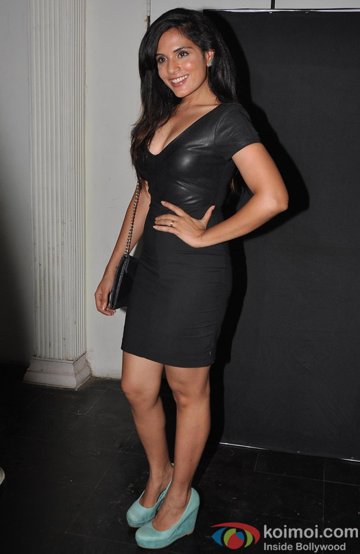 A Stunning Richa Chadda At Amit Sadh's Birthday Bash