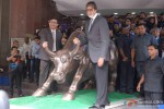 Amitabh Bachchan Promotes TV Serial 'Yudh' At Mumbai's Bombay Stock Exchange