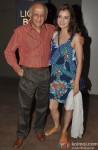 Mukesh Bhatt, Dia Mirza At The Special Screening Of 'Ek Villain'