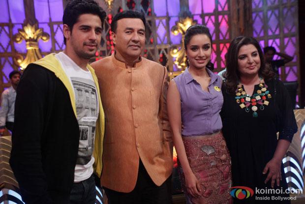 Sidhartth Malhotra At The Promotions Of Ek Villain On 'Entertainment Ke Liye Kuch Bhi Karega'