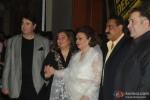 Randhir Kapoor, Ritu Nanda, Krishna Kapoor, Rajiv Kapoor At Lekar Hum Deewana Dil Music Launch