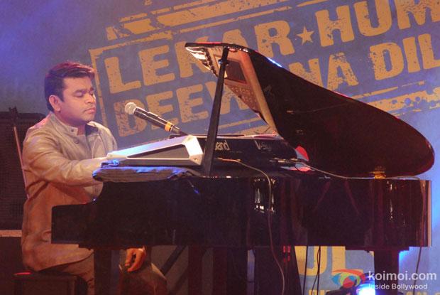Armaan Jain At The Music Launch Of Lekar Hum Deewana Dil