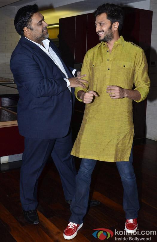 Riteish Deshmukh Snapped At The Success Party Of Humshakals