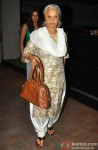 Waheeda Rehman At Humshakal's Screening