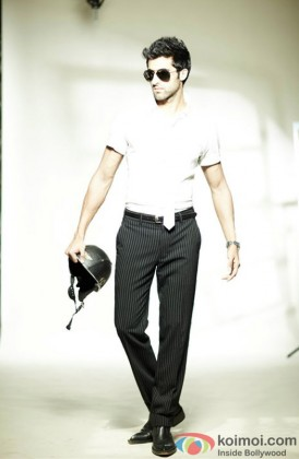 A Stylish Akshay Oberoi Strikes A Pose