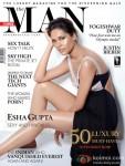 Leggy Las Esha Gupta On The Man Cover