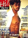 Smoking Hot Varun Dhawan On HI! Blitz Cover