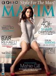Seductress Mahie Gill On Maxim Cover