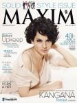 A Seductive Kangana Ranaut On Maxim Cover