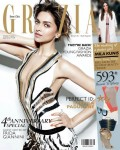 A Chic Deepika Padukone On The Grazia Cover
