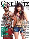 Wild Sunny Leone & Sachin Joshi On Cine Blitz Cover
