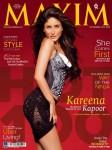 Hot & Happening Kareena Kapoor On Maxim Cover