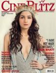 Pretty Lady Alia Bhatt On The Cine Blitz Cover