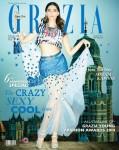 Fashionista Sonam Kapoor On Grazia Cover