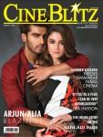 Cuddly Couple Arjun Kapoor & Alia Bhatt On Cine Blitz Cover