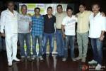 Aamir Khan with Rajesh Vivek, Amin Hajee, Akhilendra Mishra, Aditya Lakhia, Yashpal Sharma and Rajendranath Zutshi during the launch of Lagaan's Documentary
