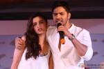 Alia-Varun Speak At The Promotional Event Of Their Next Film