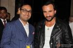 Saif Ali Khan, Che Kurrien At GQ's Best Dressed Men bash