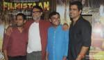 Sharib Hashmi, Rakeysh Omprakash Mehra, Innamulhaq, Nitin Kakkar Attend Filmistaan's Screening