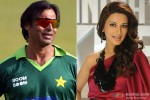 Shoaib Akhtar and Sonali Bendre