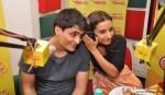 Manav Kaul and Patralekha At Radio Mirchi Office