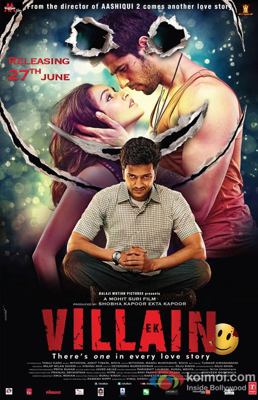 Ek Villain Movie Poster