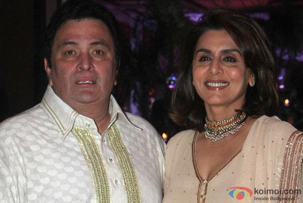 Rishi Kapoor and Neetu Singh Kapoor