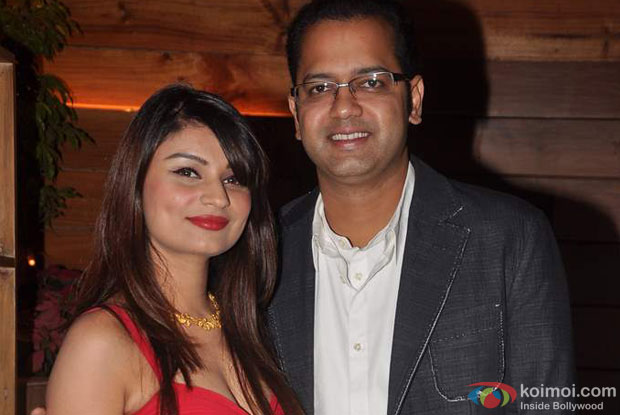 Dimpy Ganguly and Rahul Mahajan